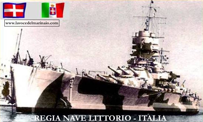 Regia nave Littorio - Italia - www.lavocedelmarinaio.com