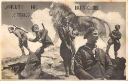 cartolina pubblicitaria del san marco - www.lavocedelmarinaio.com