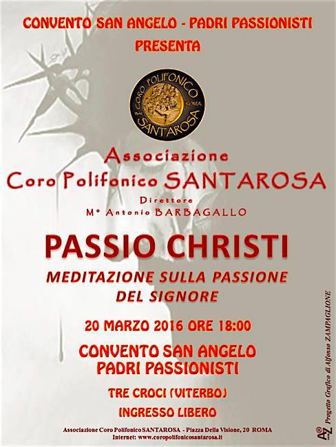 20.3.2016 a Tre croci Viterbo - www.lavocedelmarinaio.com