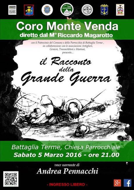 5.3.2016 a Battaglia terme - www.lavocedelmarinaio.com