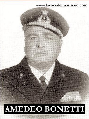 Amedeo Bonetti Maggiore genio navale - www.lavocedelmarinaio.com