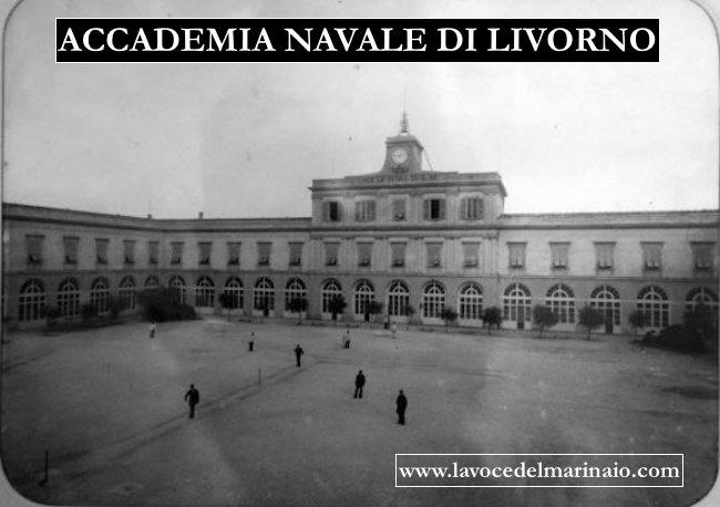 Foto d'epoca della regia accademia navale di Livorno www.lavocedelmarinaio.com