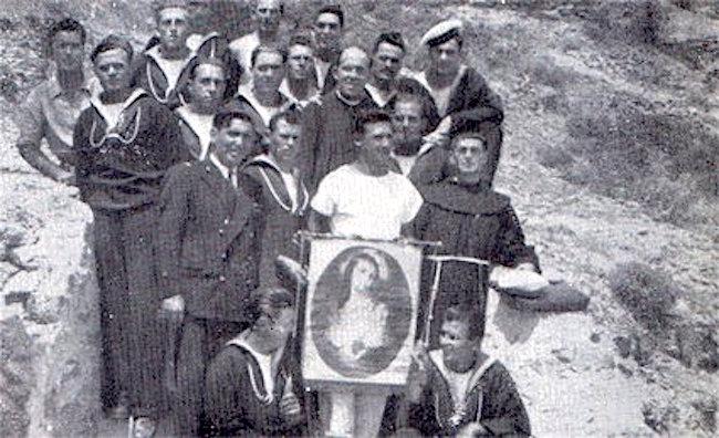 Padre Igino Lega a Leros - www.lavocedelmarinaio.com