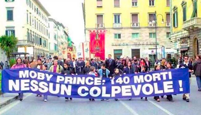 10.4.1991, Moby Prince 140 vittime nessun colpevole - www.lavocedelmarnaio.com
