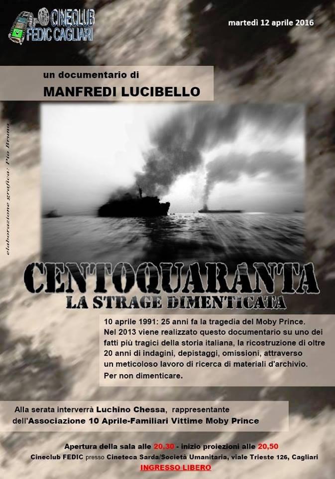 12.4.2016 a Cagliari per non dimenticare le vittime della moby Prince - www.lavocedelmarinaio.com