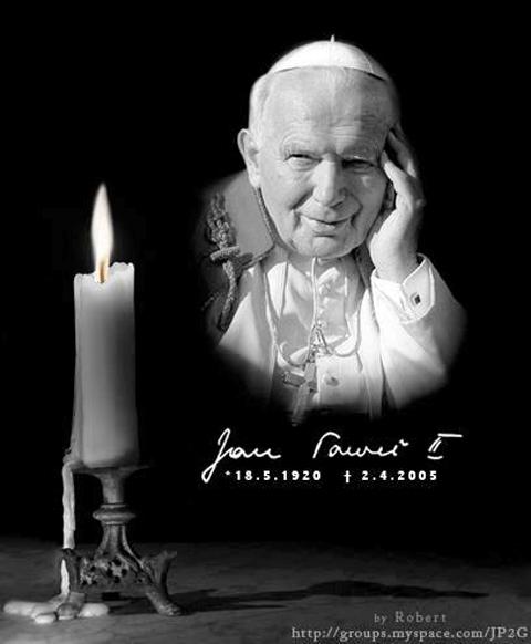 2 aprile 2005 San Giovanni Paolo II - www.lavocedelmarinaio.com