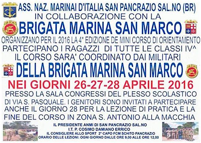 26-28.4.2016 a San Pancrazio Salentino - www.lavocedelmarinaio.com