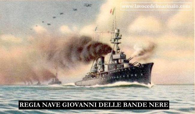 1.4.1942 affondamento Regia nave Giovanni dalle bande nere - www.lavocedelmarinaio.com