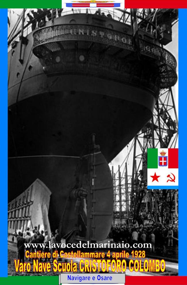 4.4.1928 varo regia nave Colombo - www.lavocedelmarinaio.com
