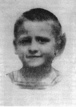 Egidio Bullesi bambino - www.lavocedelmarinaio.com
