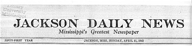 Jackson daily news
