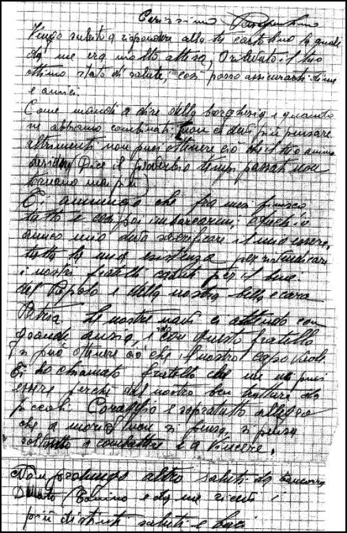 Lettera di Tancorre Vincenzo Marinaio (p.g.c. a www.lavocedelmarinaio.com)