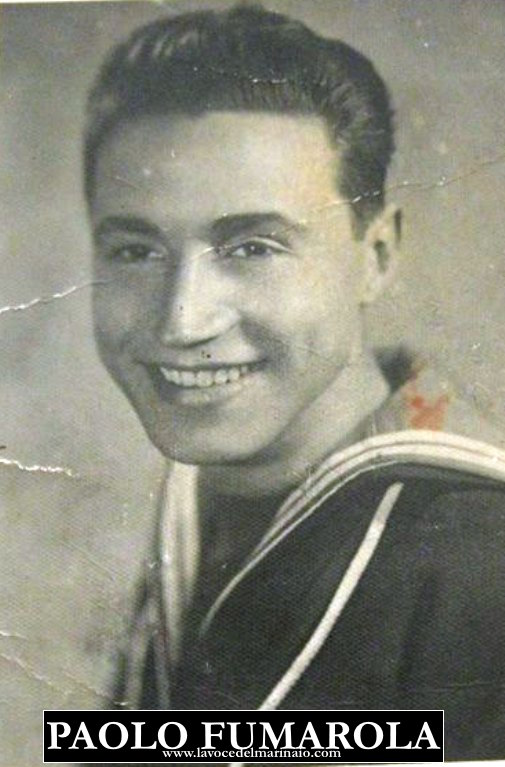 Marinaio Paolo Fumarola morto in battaglia a Tripoli 1941 marina militare onore alla patria - www.lavocedelmarinaio.com(f.p.g.c.FRancesco Ruggieri)