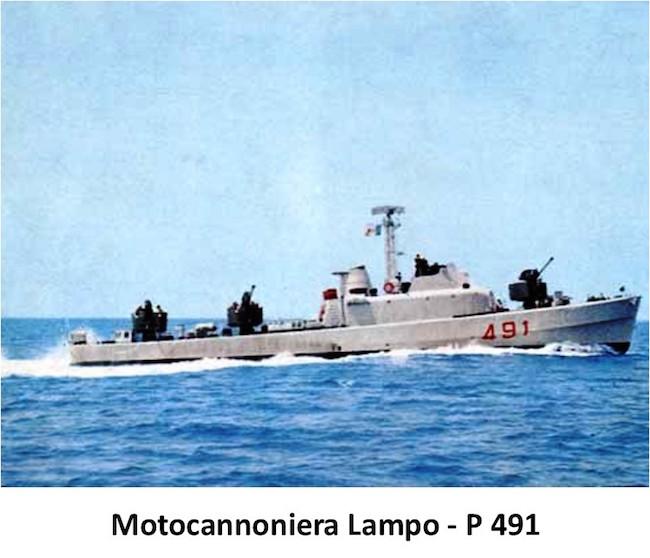 Motocannoniera-lampo
