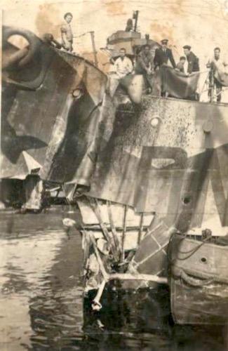 Regia nave Da Noli in cantiere danneggiata - www.lavocedelmarinaio.com