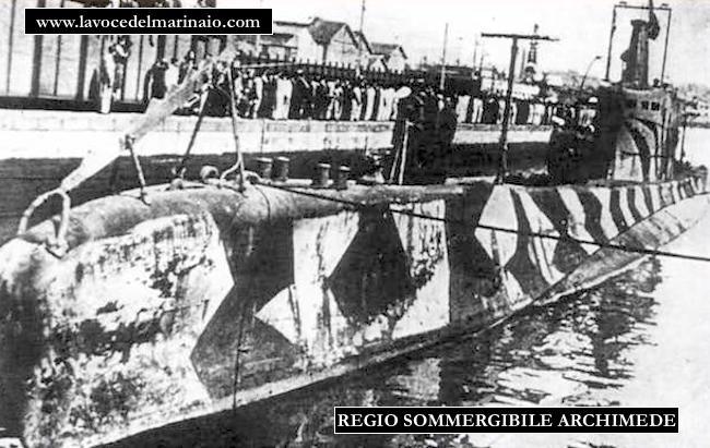 Regio sommergibile archimede - www.lavocedelmarinaio.com