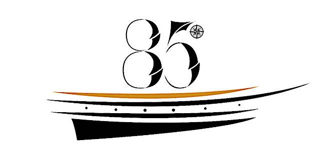 logo 85 anno nave vespucci - www.lavocedelmarinaio.com