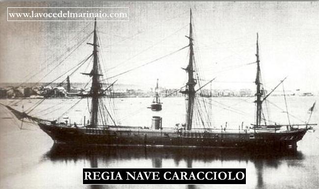 ragia nave Caracciolo - www.lavocedelmarinaio.com