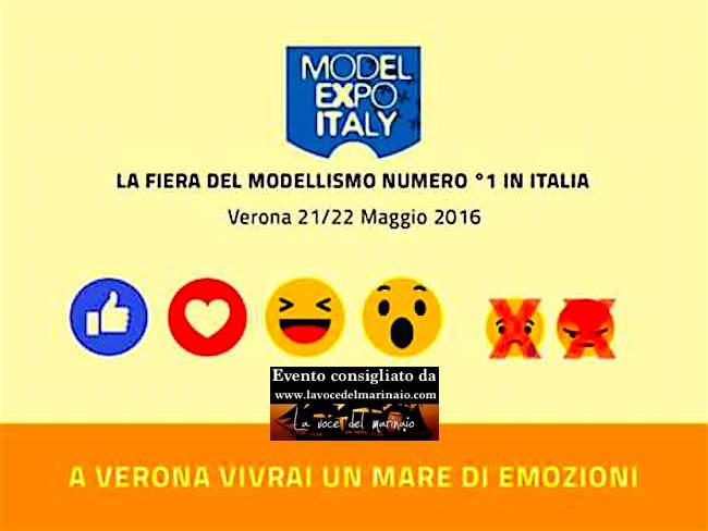 21-22.5.2016 a Verona Fiera del modellismo - www.lavocedelmarinaio.com