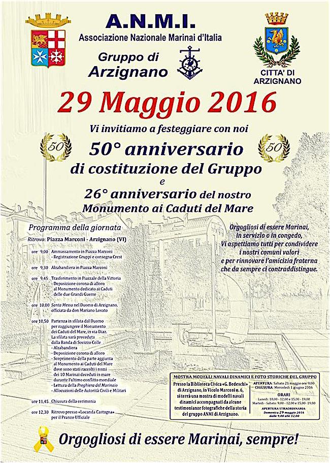 29.5.2016 ad Arzignano - www.lavocedelmarinaio.com
