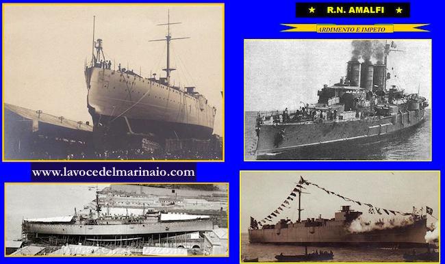 5.5.1908 regia nave Amalfi - www.lavocedelmarinaio.com