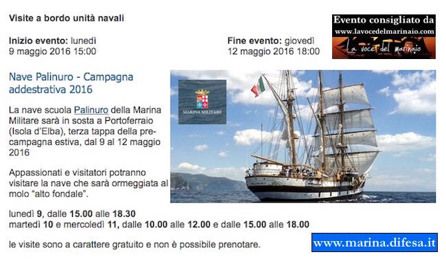 9-12.5-2016 nave Palinuro all'isola d'Elba - www.lavocedelmarinaio.com