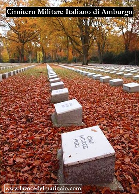 Cimitero Militare Italiano di Amburgo - www.lavocedelmarinaio.com