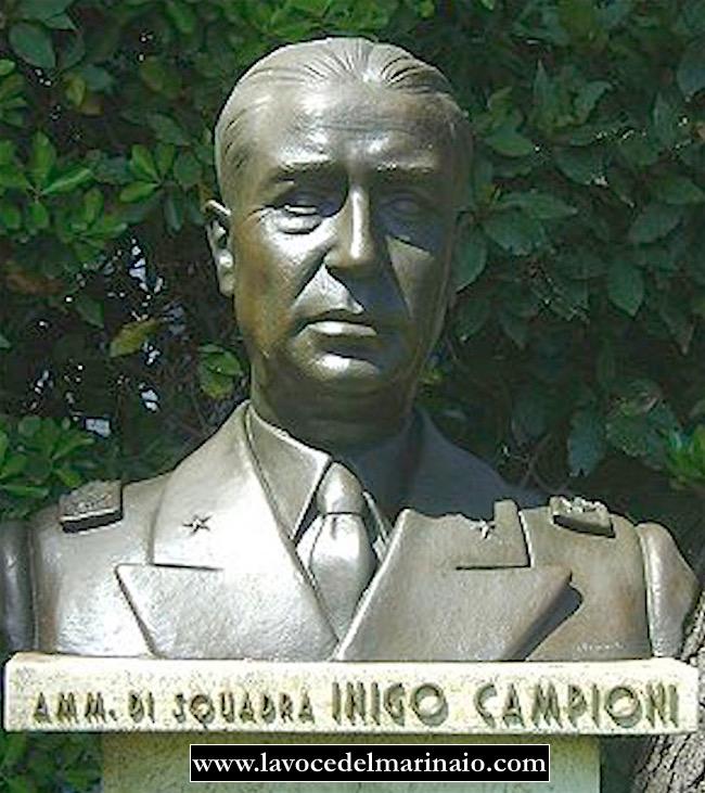 Inigo Campioni (busto) cittòà di Livorno - www.lavocedelmarinaio.com