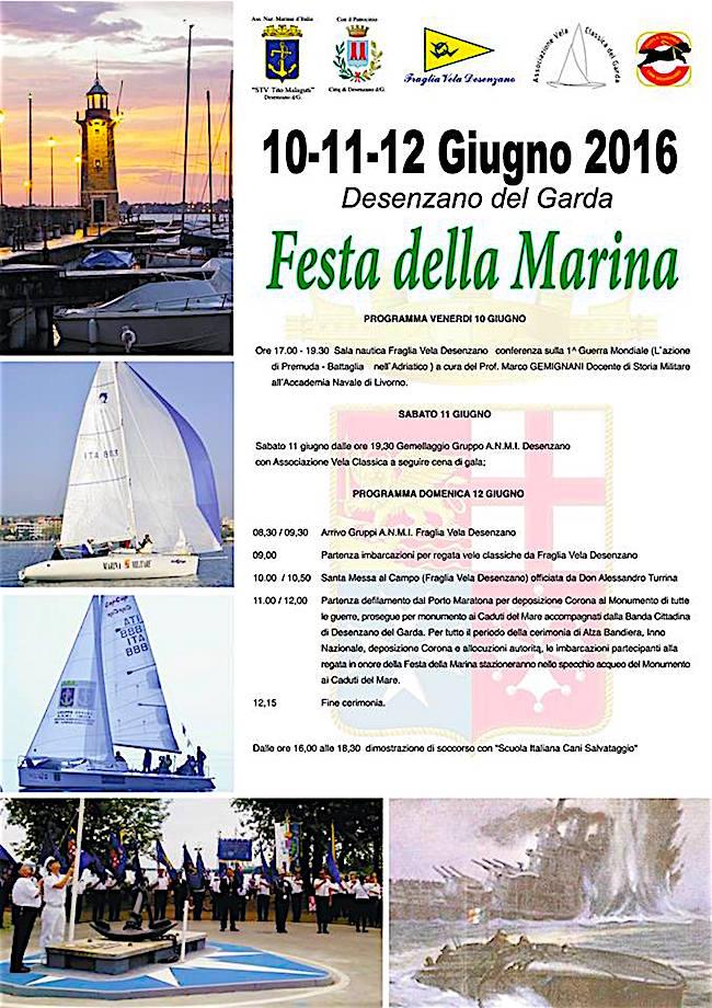 10-12.6.2016 a Desenzano del Garda Festa della Marina - www.lavocedelmarinaio.com