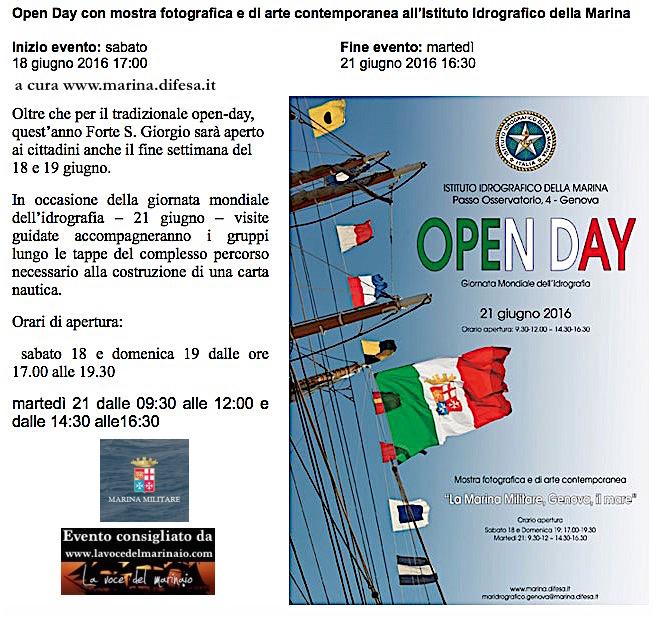 18-21.6.2016 a Genova %22Open day - Istituto Idrografico della Marina%22 - www.lavocedelmarinaio.com