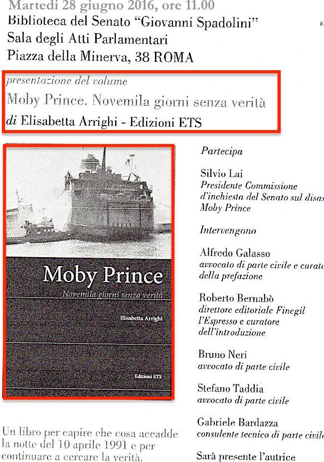 28.6.2016 a Roma conferenza sulle vittie Moby Prince - www.lavocedelmarinaio.com