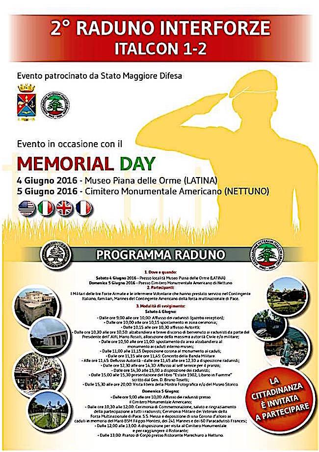 4-5.6.2016 a Latina e Nettuno 2° raduno interforze Italcon 1-2 - www.lavocedelmarinaio.com