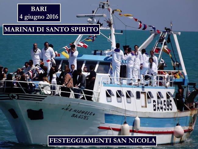 4.6.2016 a Bari con i marinai di Santo Spirito - www.lavocedelmarinaio.com