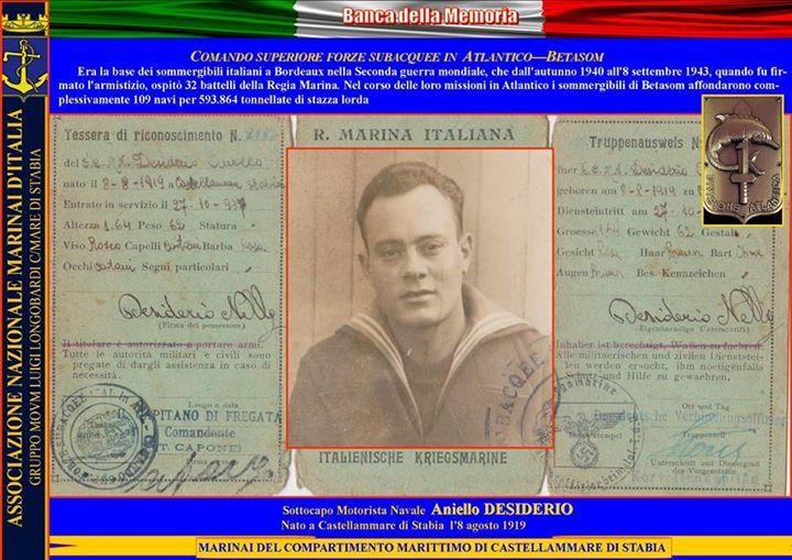Aniello Desiderio collage - www.lavocedelmarinaio.com