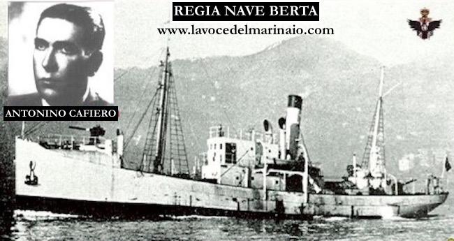 Antonino Cafiero e la regia nave Berta - www.lavocedelmarinaio.com