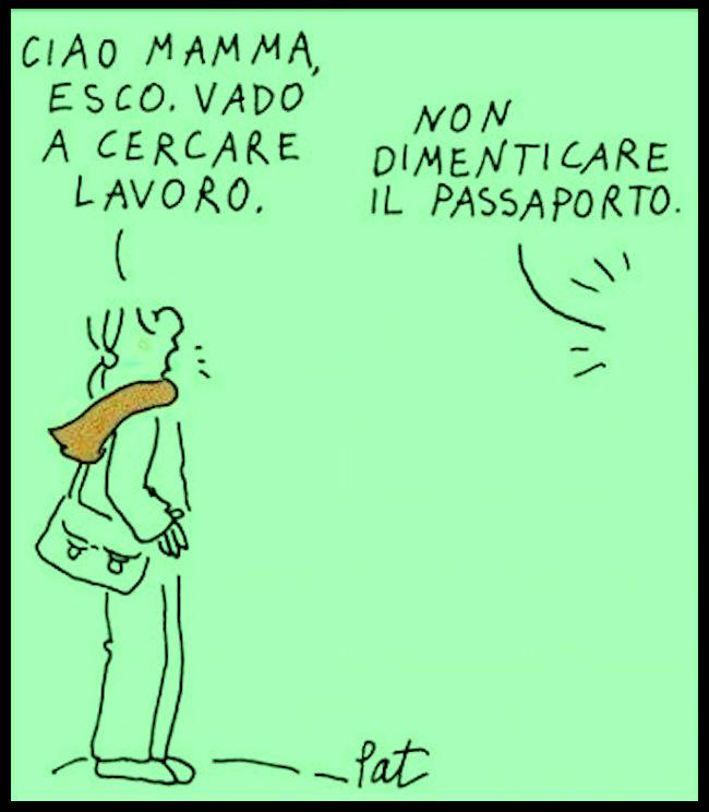 I nuovi emigranti - foto internet - www.lavocedelmarinaio.com