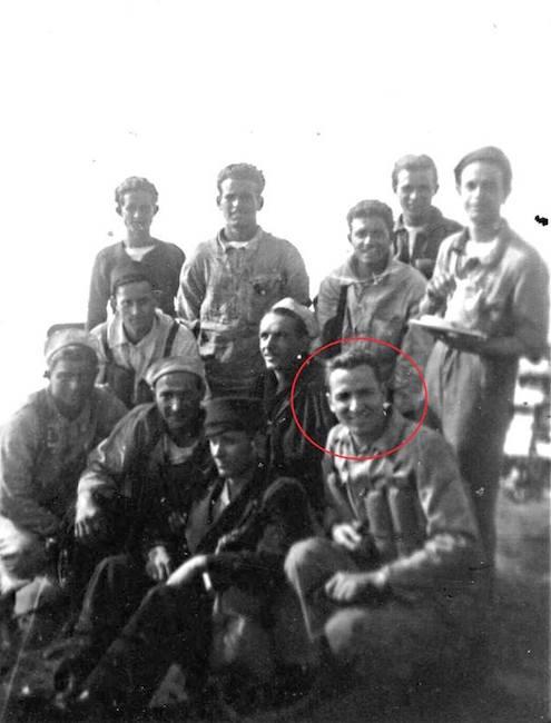 Rodolfo Fiaschi e alcuni membri dell'equipaggio del Turbine- www.lavocedelmarinaio.com