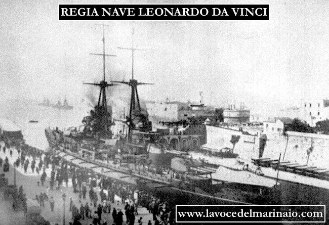 foto d'epoca regia nave Da Vinci - www.lavocedelmarinaio.com
