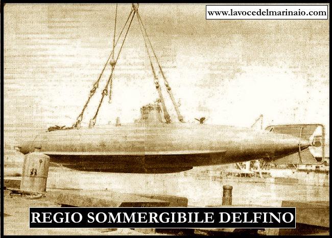 regio sommergibile Delfino
