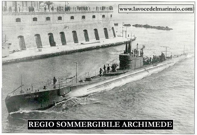 regio sommergibile archimede www.lavocedelmarinaio.com