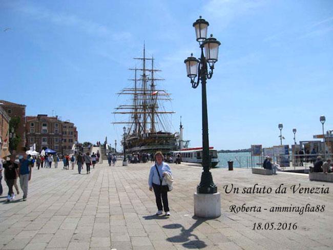 saluti da Venezia a www.lavocedelmarinaio.com
