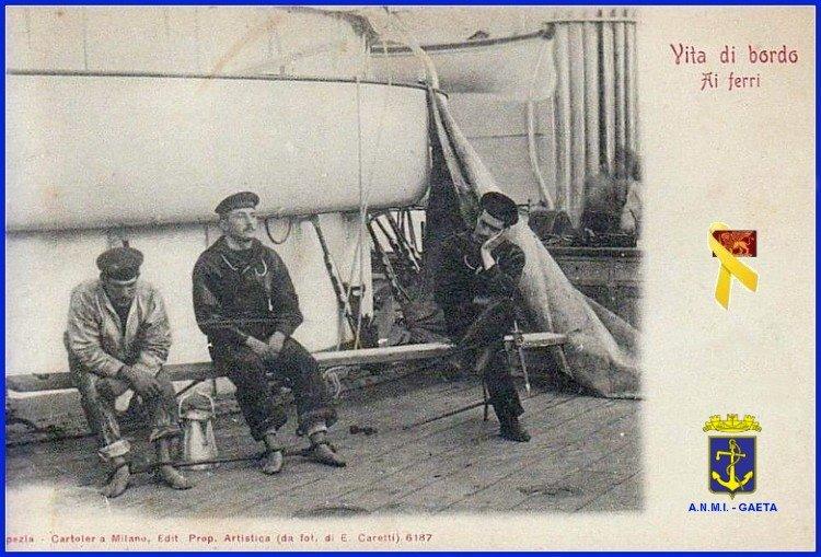 vita di bordo - ai ferri f.p.g.c. carlo di nitto a www.lavocedelmarinaio.cm