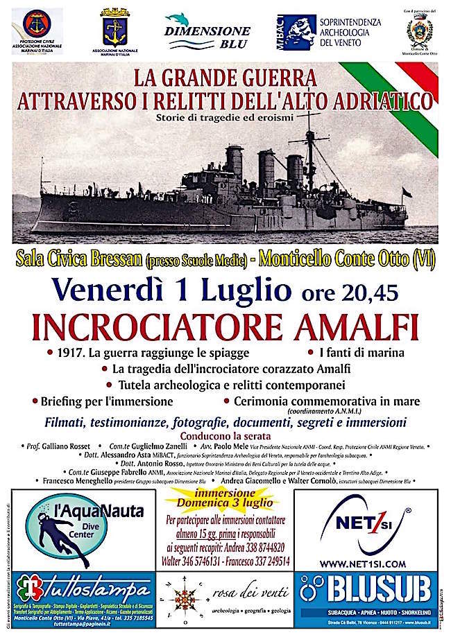 1.7.2016 a Monticello Conte Otto (VI) Incrociatore Amalfi - www.lavocedelmarinaio.com