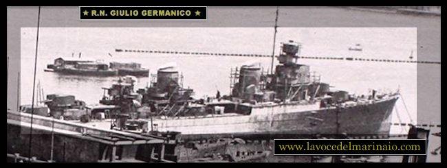 26.7.1941 varo regio incrociatore Giulio Germanico - ww.lavocedelmarinaio.com