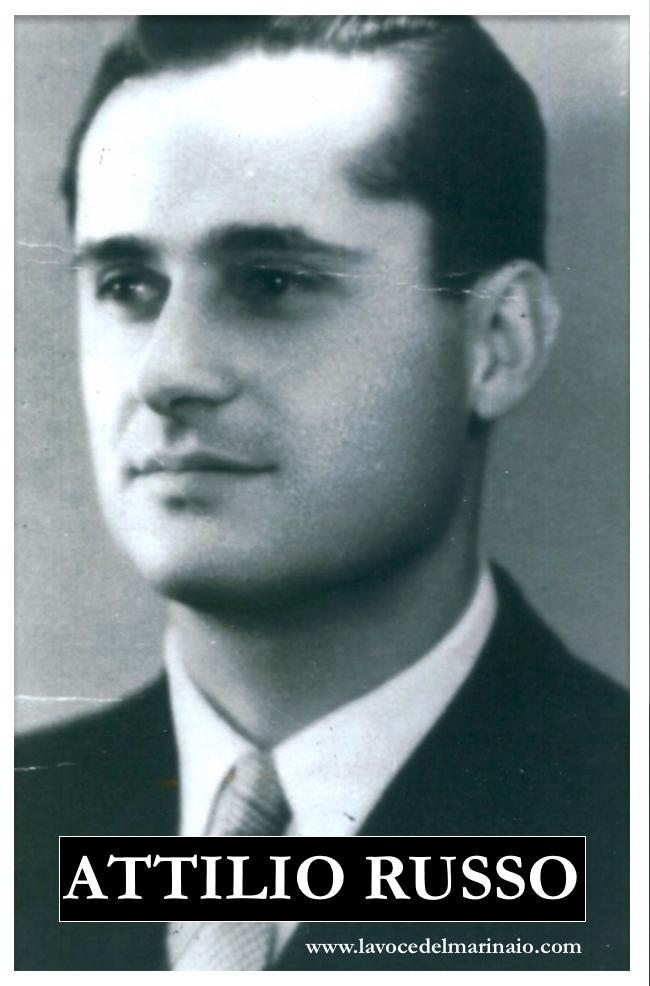 Attilio Russo in abiti borghesi - www.lavocedelmarinaio.com