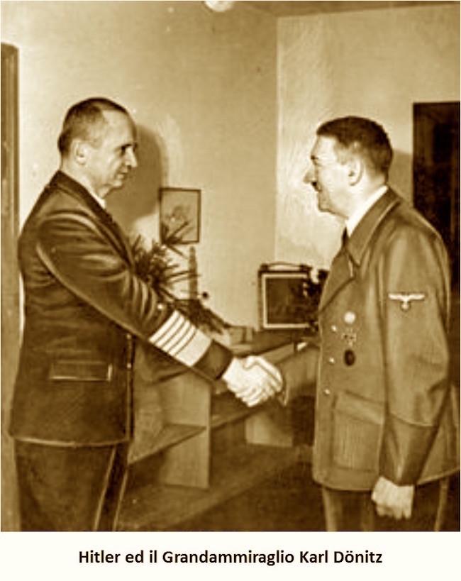 Hitler e Karl Dönitz
