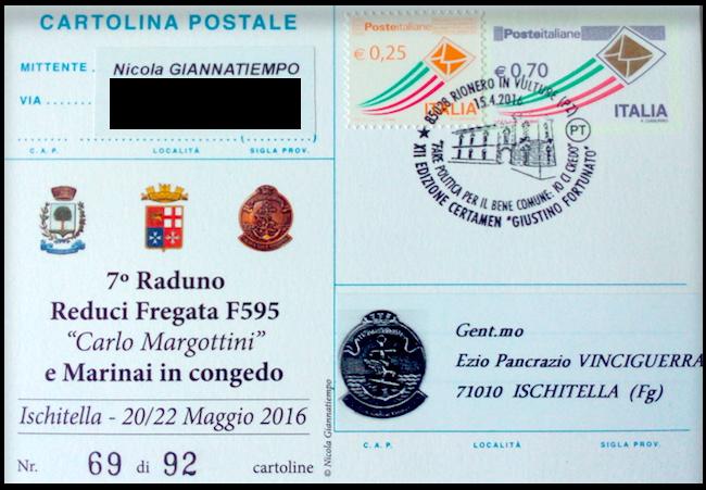 Invito al 7° raduno reduci fregata Margottini www.lavocedelmarinaio.com