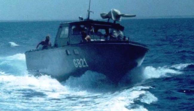 Motovedetta della marina militare Etipica
