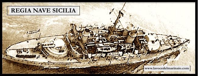 Veduta aerea regia nave Sicilia - www.lavocedelmarinaio.com