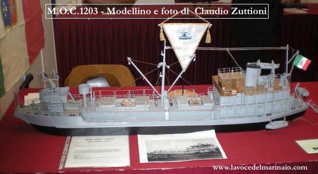 modello della M.O.C. 1203 di Claudio Zuttioni f.p.g.c. a www.lavocedelmarinaio.com